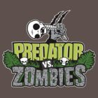 Predator vs Zombies by warbucks360