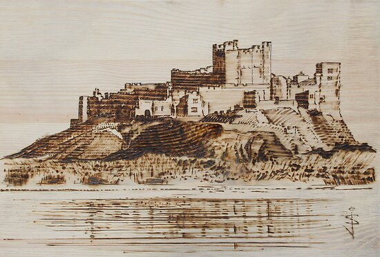Bamburgh Castle by Jan Szymczuk