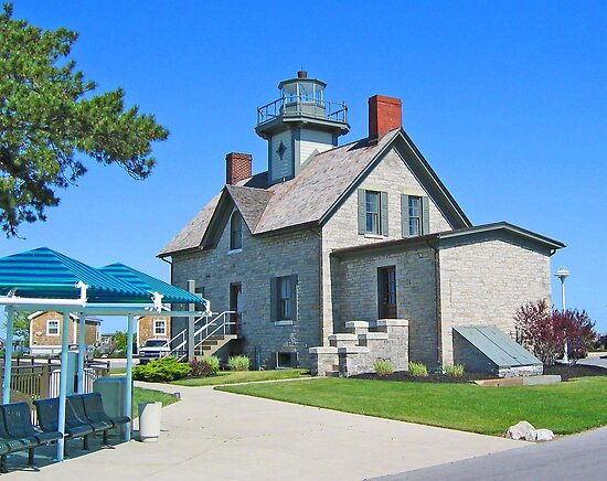 Cedar Point's Restored Lighthouse by Jack Ryan