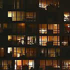 Windows at night by harietteh