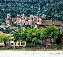 Historic Heidelberg by Kasia-D