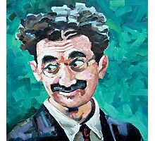 Groucho gives the eyes Photographic Print