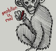 Evolution is Real by Brett Gilbert