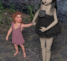 The Doll and Her Child by Liam Liberty