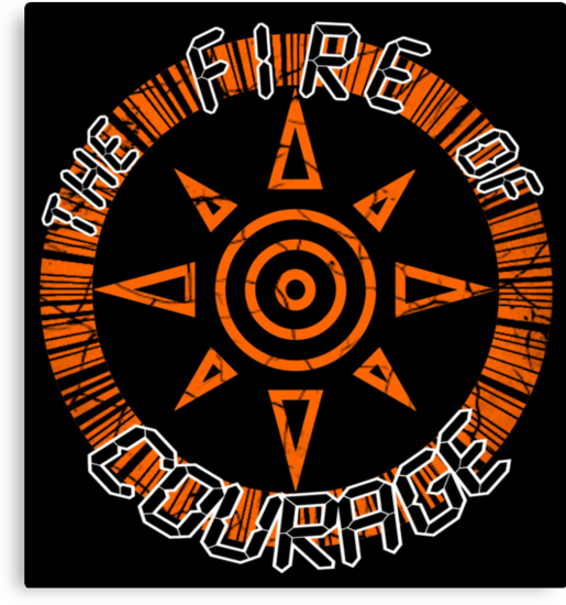 The Fire Of Courage by ChronoStar