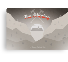 The Shining Postcard Canvas Print