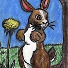 Rabbit In The Forest by David Webb