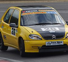 750 MC Stock Hatch - #28 Andrew Tibbs - Citroen Saxo - Druids, Brands Hatch by motapics