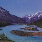 Athabasca Runoff by Michael Beckett