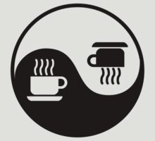 Ying and Yang of Coffee by divebargraphics