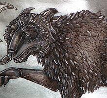 Fenris Wolf by Lynnette Shelley