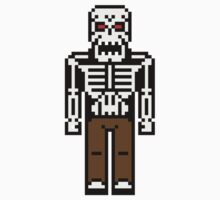 8-bit Skeleton by KingZombie