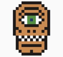 8-bit Cyclops by KingZombie