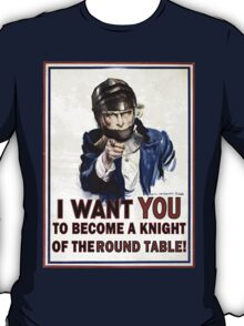 Uncle Sam- The Round Table T-Shirt