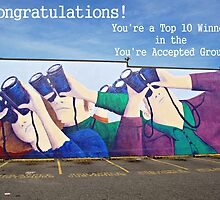 You're Accepted-Top 10 Banner by Ethna Gillespie