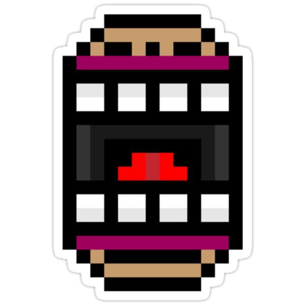 8-bit mouth by KingZombie