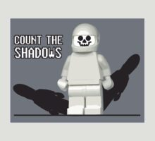Dr who count the shadows with Legos by Brantoe