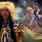  CHEVEYO (NATIVE AMERICAN)TOM MEANING SPIRIT WARRIOR  by  Bonita Lalonde