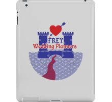 Frey Wedding Planners iPad Case/Skin