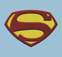 George Reeves '50s Shield - Textured Color Version by HankTheTurtle