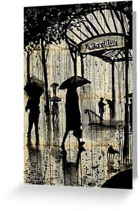 paris metro by Loui  Jover