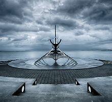 The Sun Voyager In Shadow by Mel Sinclair