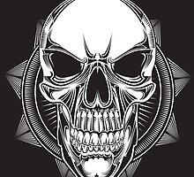 Crystal Skull by Marcin Kordacki
