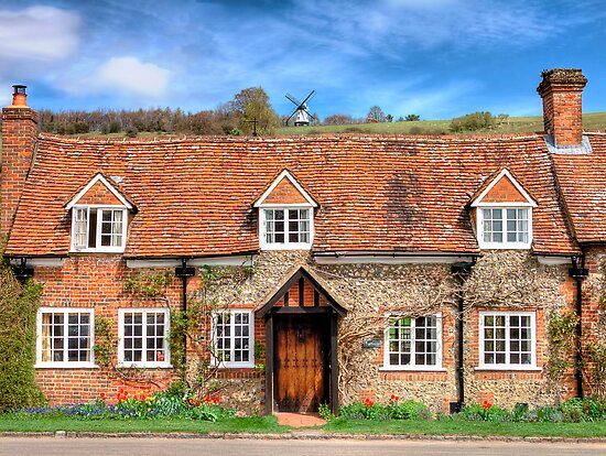 Turville - A Much Used Film Location - 3 by Colin J Williams Photography
