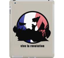 Vive la revolution iPad Case/Skin