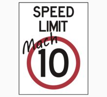 Speed Limit - Mach 10 by Sascha Grant