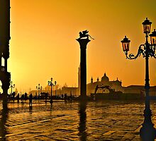 Venice, Italy at sunset  by PhotoStock-Isra