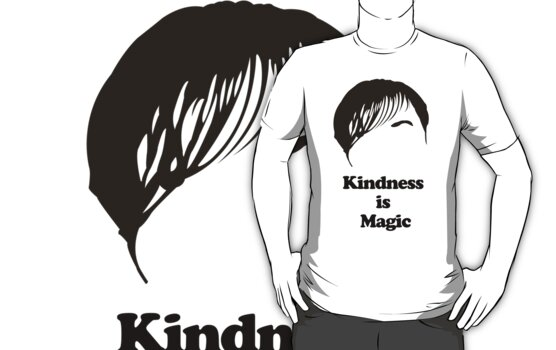Derek (Ricky Gervais) Kindness is Magic by Posteritty
