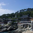 Haedong Yonggung Temple by jeffreynelsd