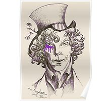 Mad Hatter (purple) Poster
