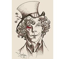 Mad Hatter (burgundy) Photographic Print