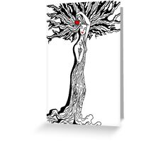 Ladytree Greeting Card