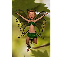 Fairy in Free-Fall Photographic Print