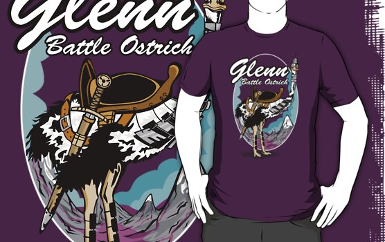 Glenn, Battle Ostrich by Siegeworks .