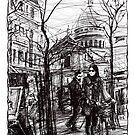 Montmartre 5 by Tatiana Ivchenkova