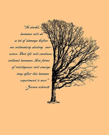 broken tree by lainer15