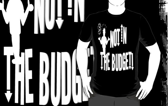 Not In The Budget #4 by Elenne Boothe