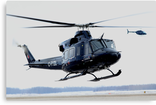 Clearing Turn, RCAF Bell 412 by mhnatiuk