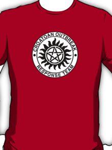Croatoan Outbreak Response Team T-Shirt
