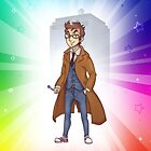10th Doctor Case - Rainbow Edition by Kirsten  Stackhouse