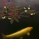 0212 Yellow Koi  by Larry3