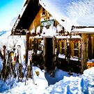 Ski Hutte by mlphoto