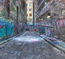Rutledge Lane, Melbourne by ajhaysom