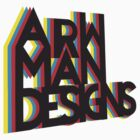 (Logo) ARW MAN by arrowmandesigns