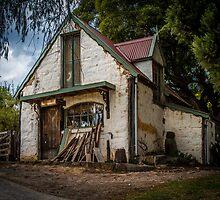 Luthier's Cottage, Montsalvat, Victoria, Australia by Julie Begg