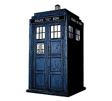 Tardis from Dr Who (White Case) by Marjuned